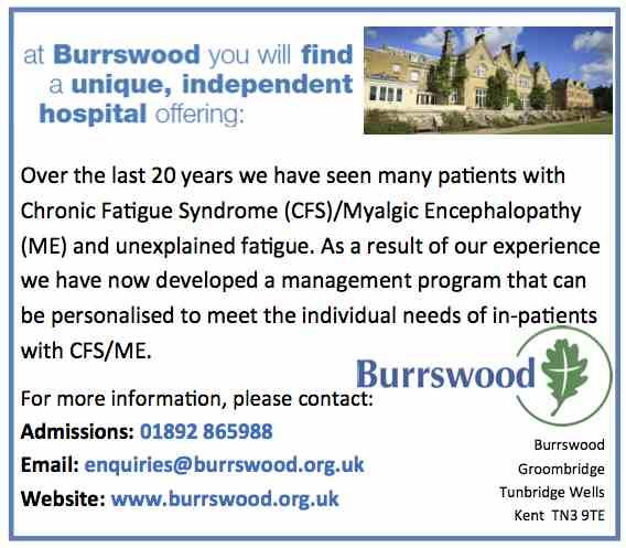 Burrswood ad
